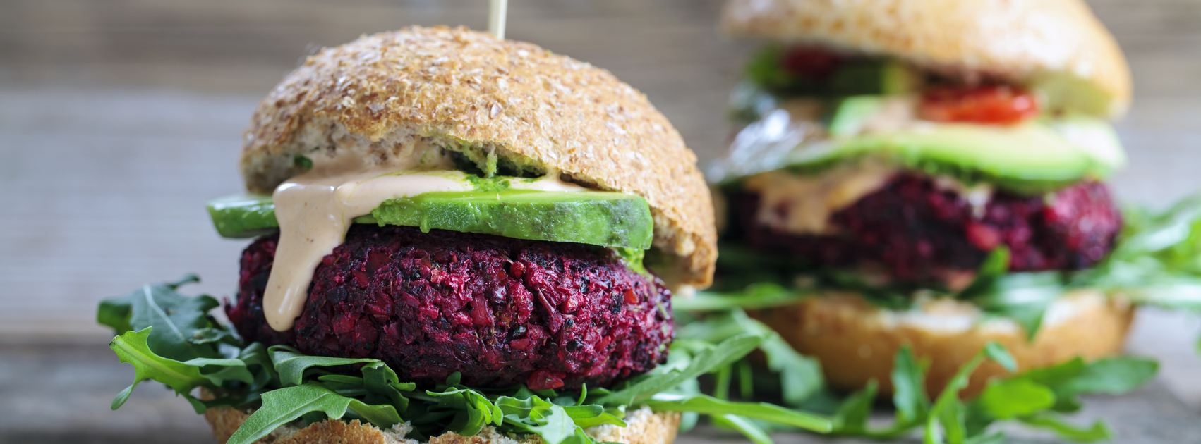 Beet Avacado Burger