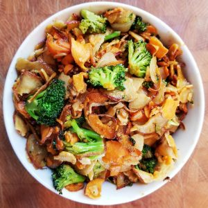 Broccoli & Sweet Potato Stir Fry