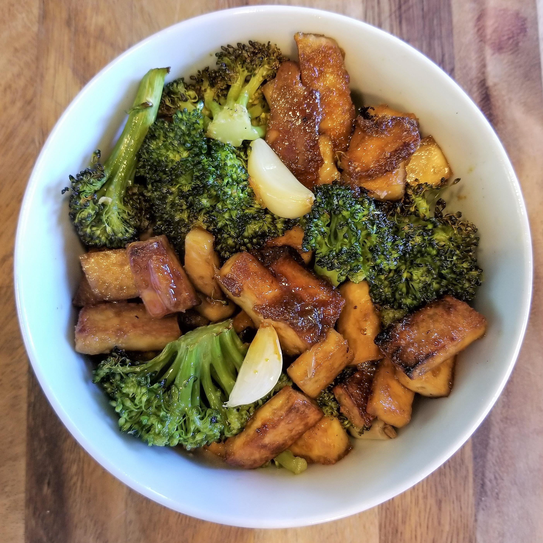 Crispy Tofu & Broccoli Bowl