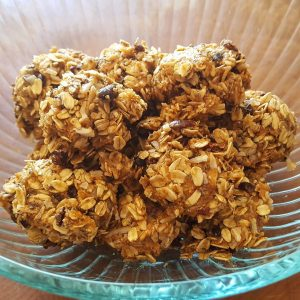 Oatmeal Dark Chocolate Chip Balls