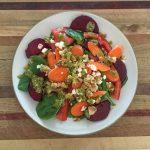 Beet Pesto Salad