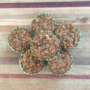 Carrot & Fruit Muffins