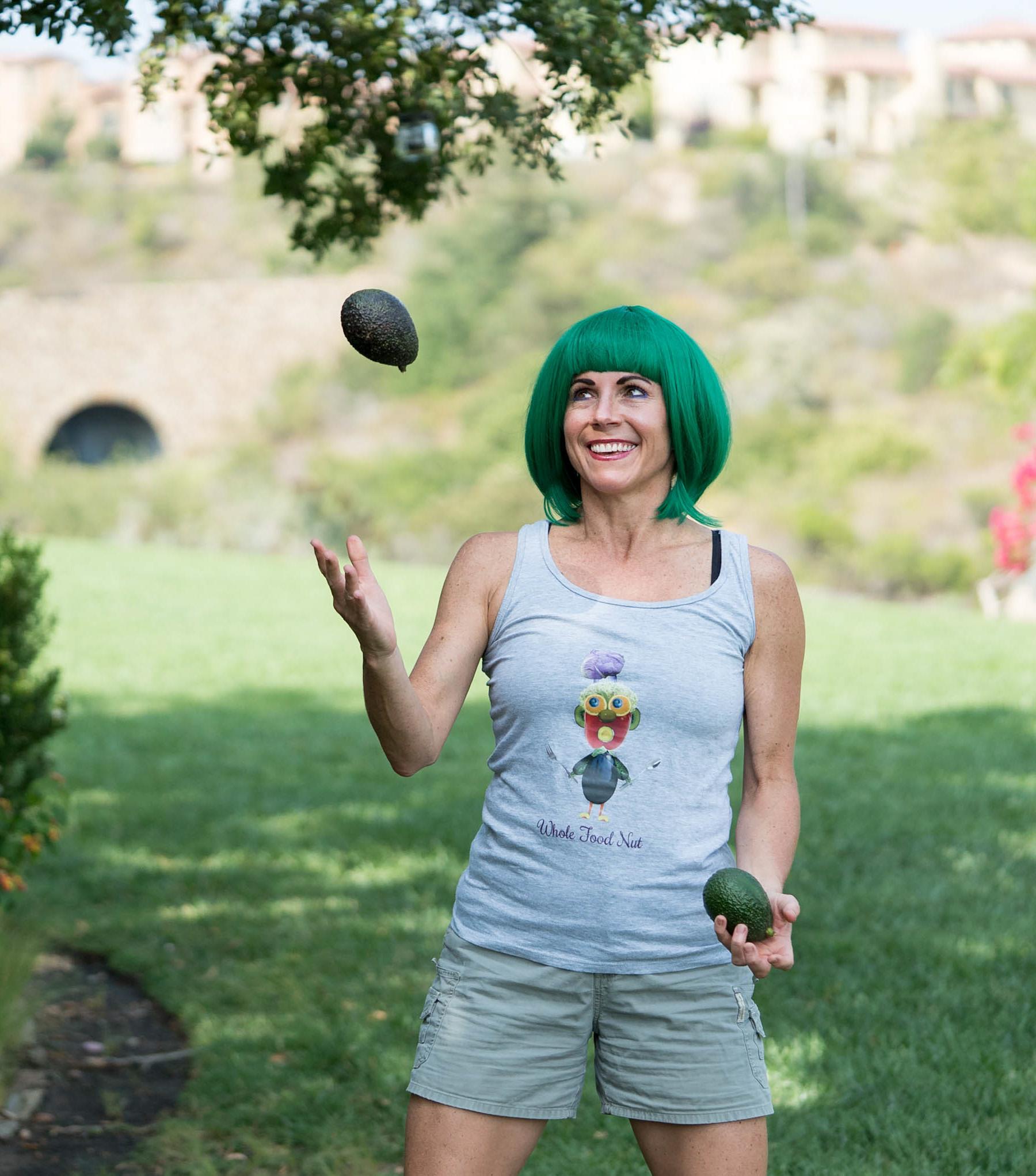 Jenn Juggling Avocados