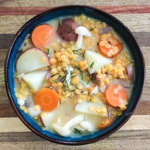 Lentil & Potato Soup
