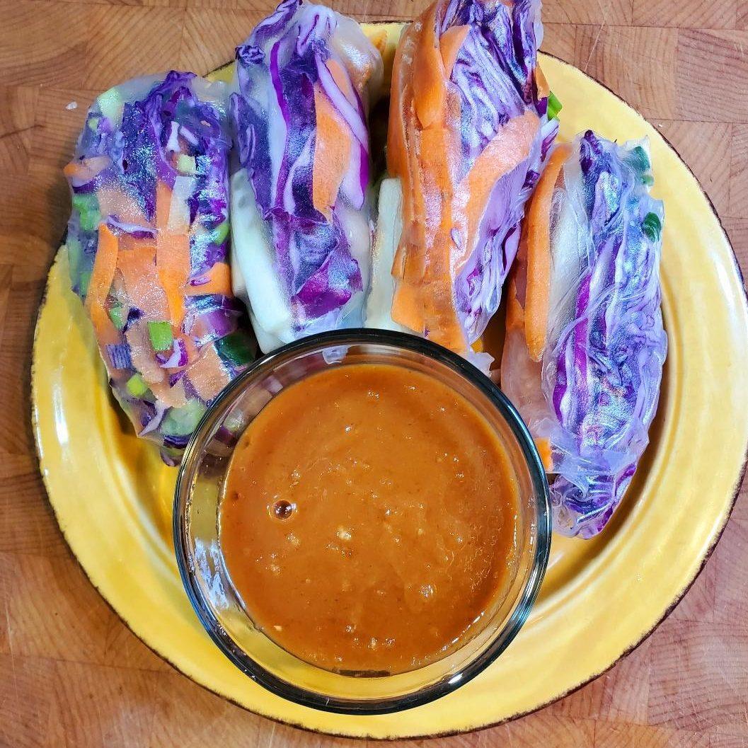 Veggie Spring Rolls (2)