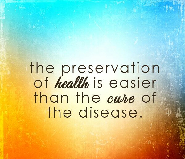 Prevention Is Key To Health