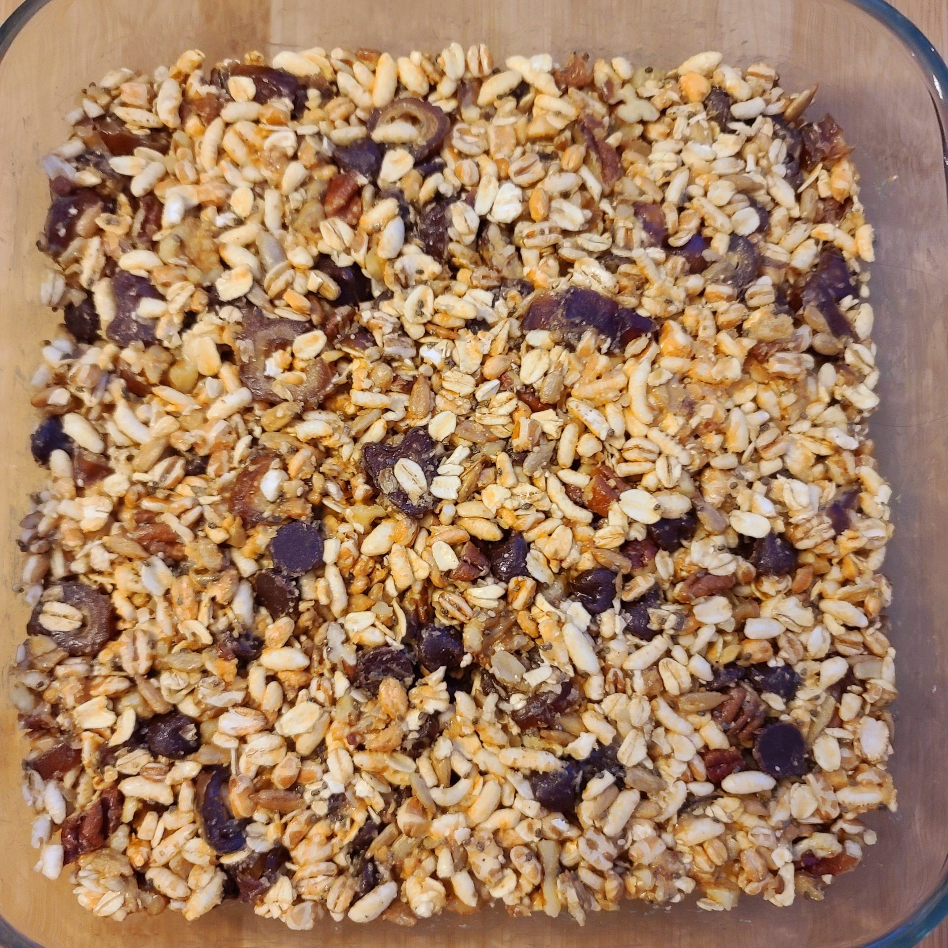 Whole Grain Puff & Date Bars (6)