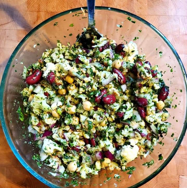 Cauliflower Tabbouleh (3)